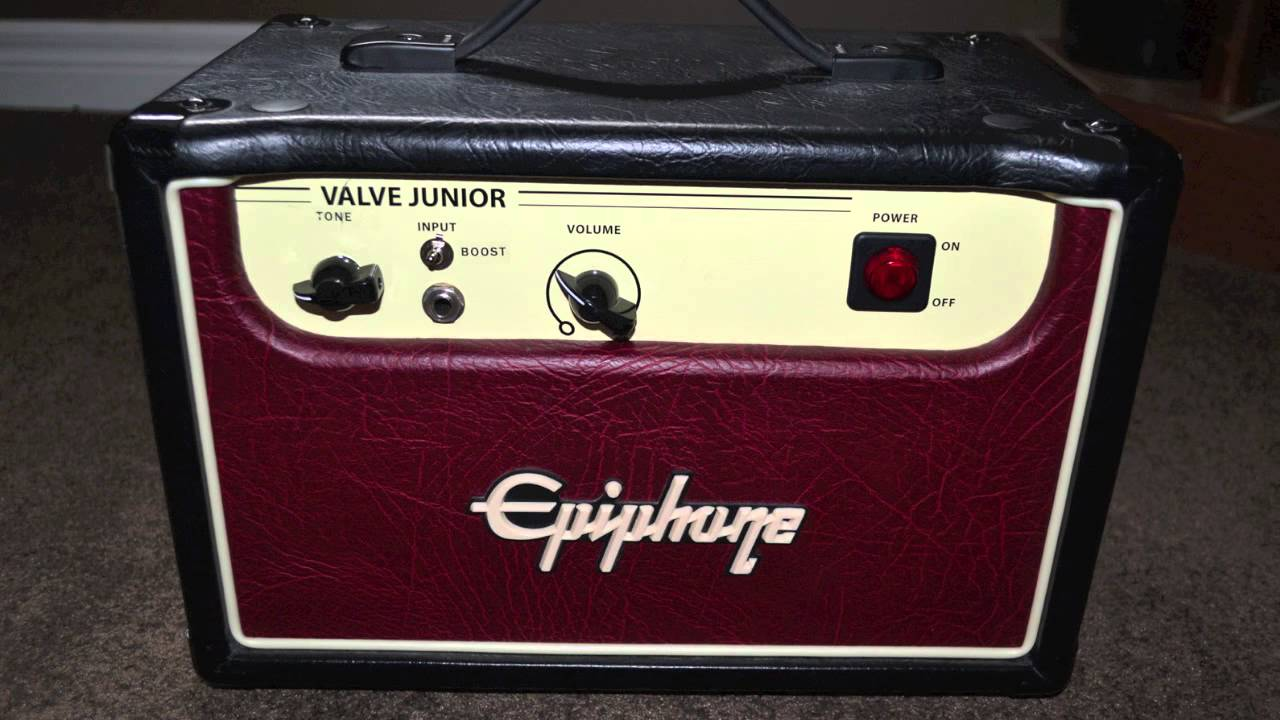 epiphone valve junior head review