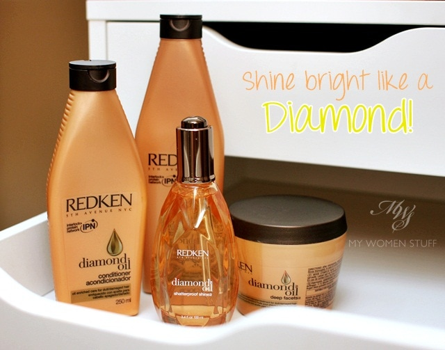 redken diamond oil shampoo and conditioner review