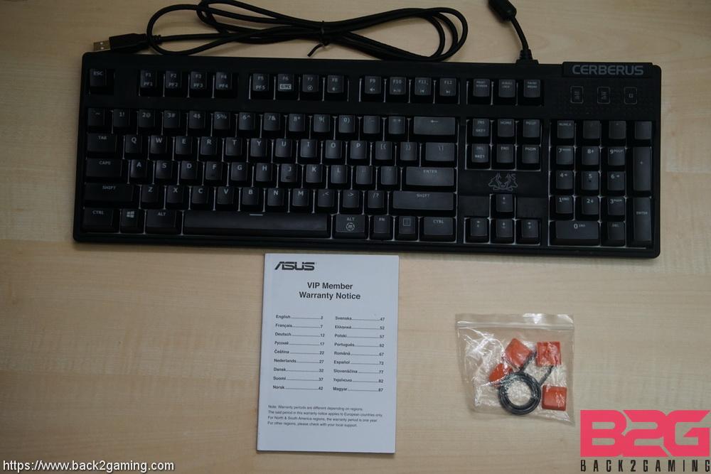 asus cerberus mechanical rgb keyboard review