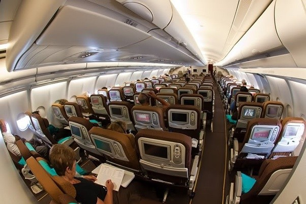 garuda airlines first class review