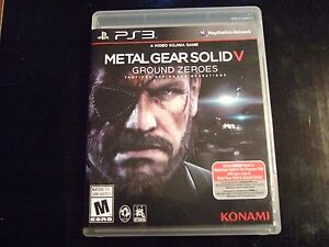 metal gear solid 5 ps3 review