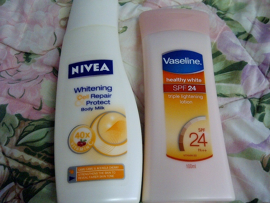 nivea whitening lotion 50x vitamin c review