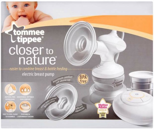 tommee tippee breast pump review
