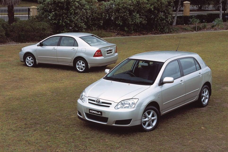 toyota corolla sedan 2005 review