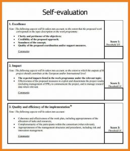 examples comments for self performance reviews