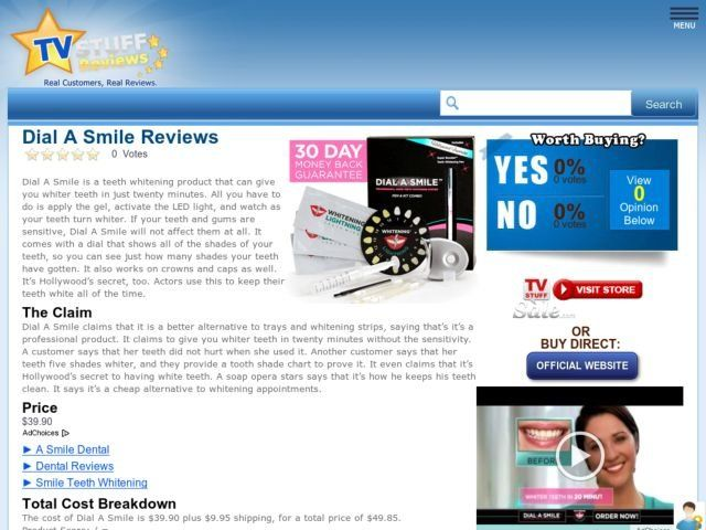 dial a smile reviews makeupalley