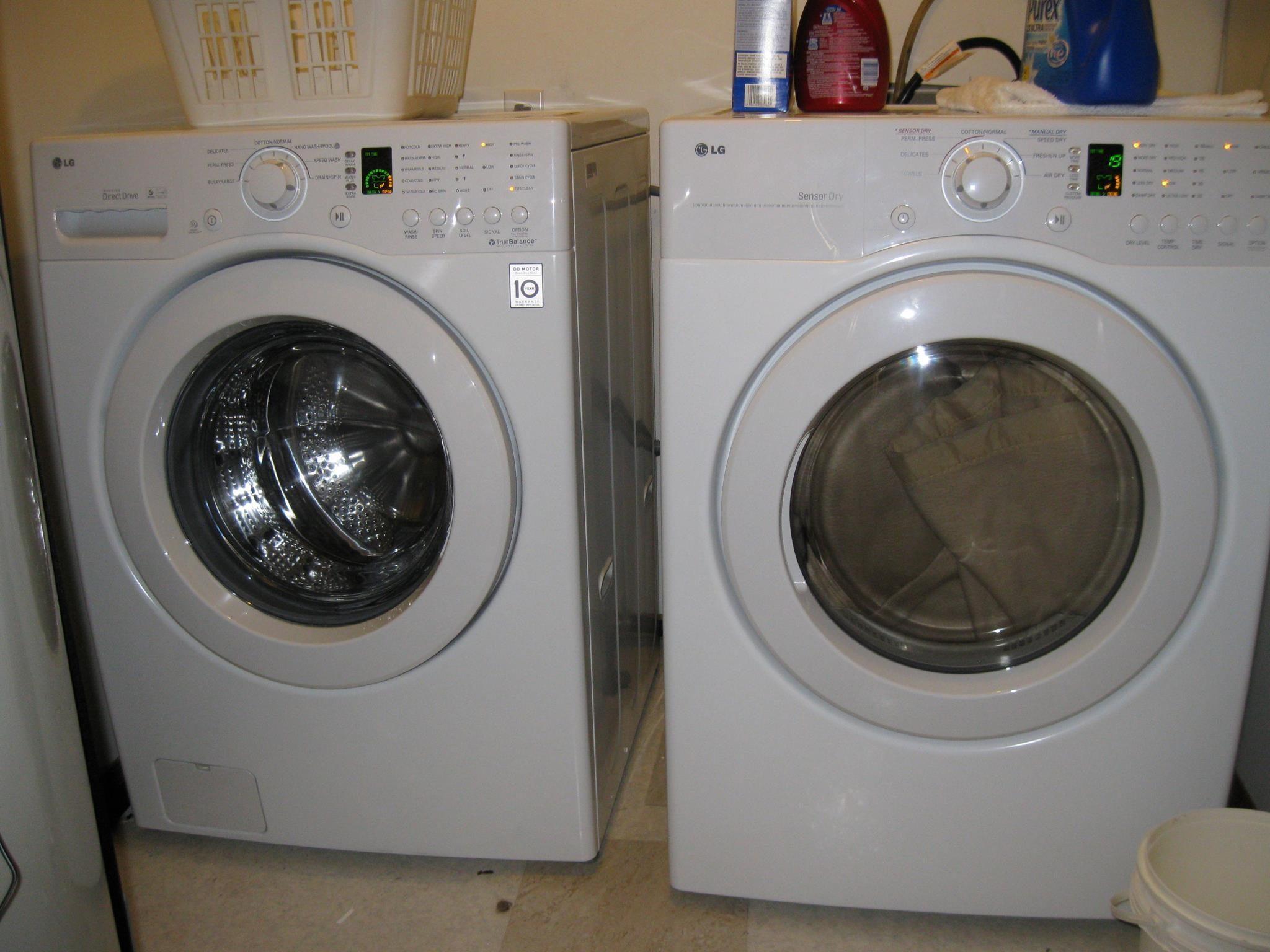 lg washing machine reviews 2012