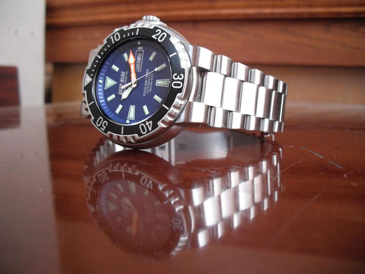 deep blue sun diver 1k review
