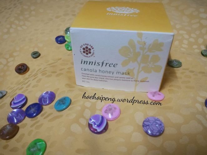 innisfree canola honey mask review