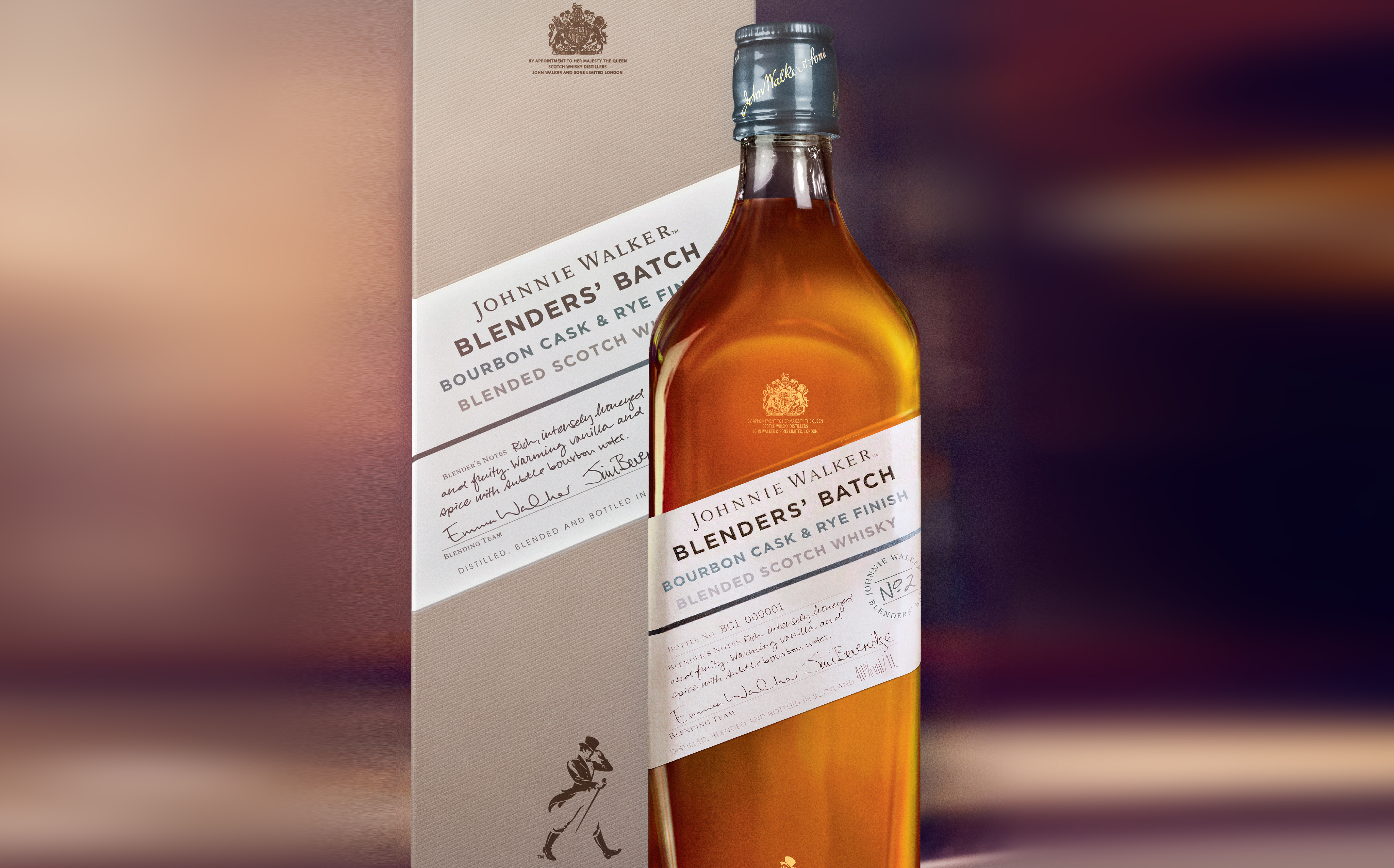 johnnie walker blenders batch bourbon cask and rye finish review