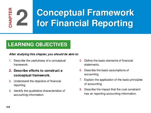 a review of the conceptual framework for financial reporting