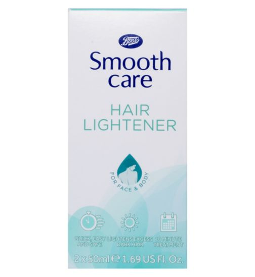 boots smooth care hair lightener review