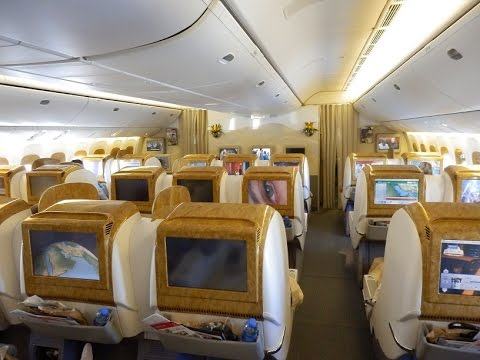 emirates 777 business class review