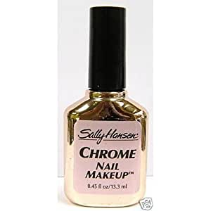 sally hansen chrome nail polish review