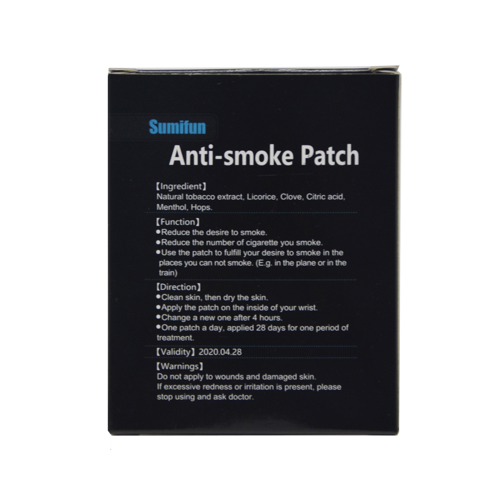 anti smoke magnetic patch reviews