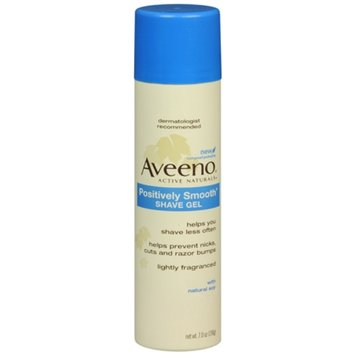 aveeno positively smooth shave gel review