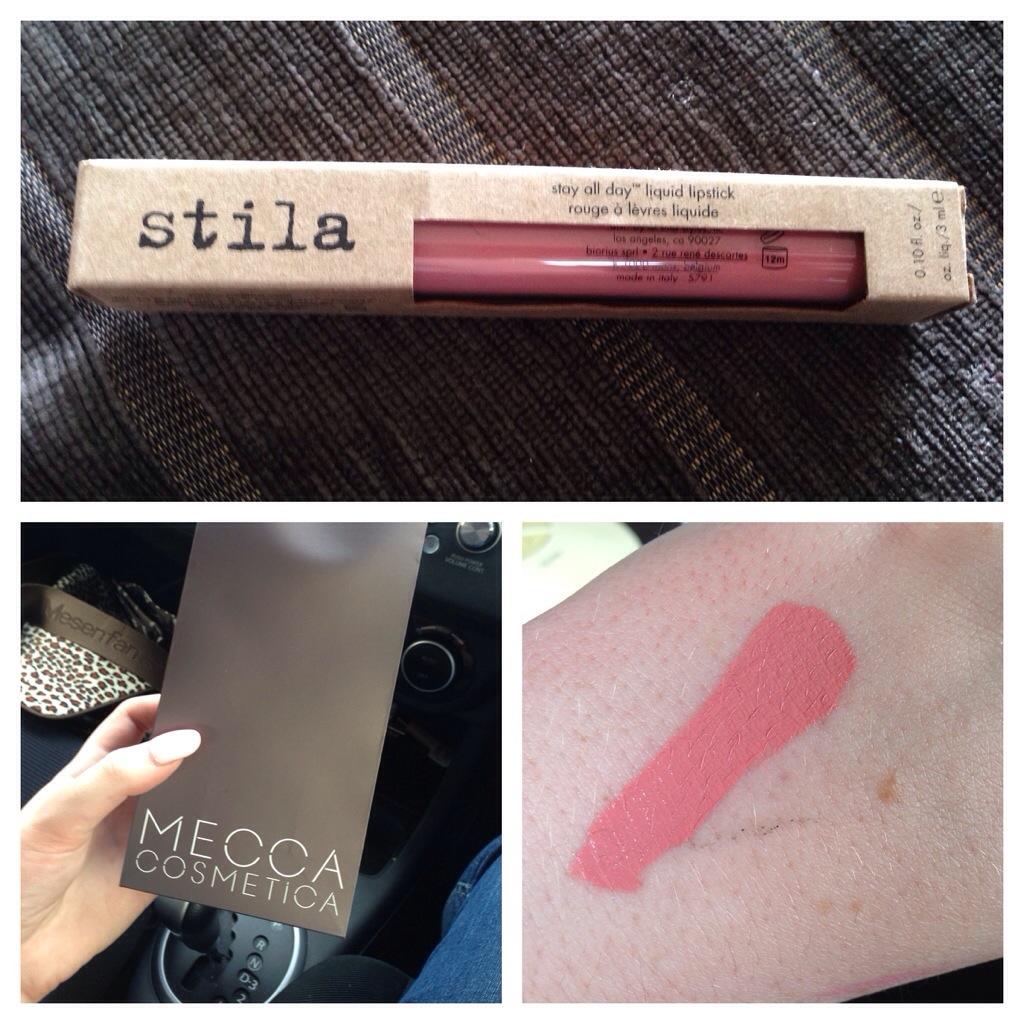 stila all day lipstick review