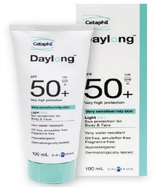 cetaphil daylong light gel spf 50 pa+++ review