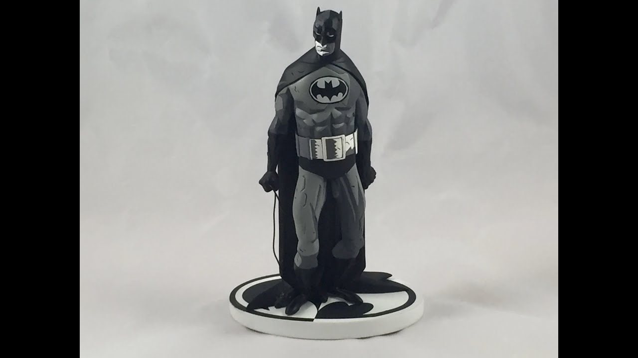 batman black and white review