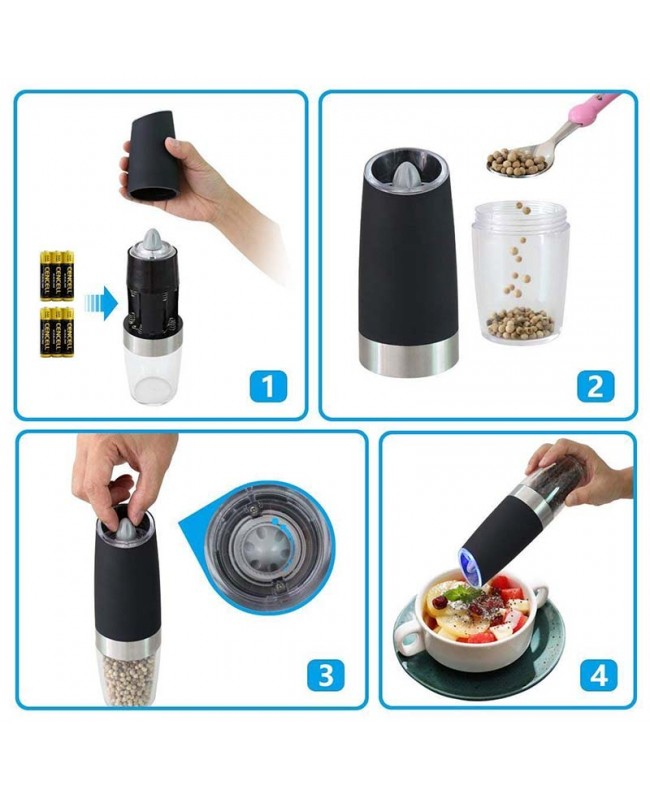 battery powered salt and pepper grinders reviews
