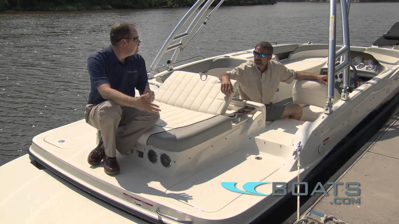bayliner 195 deck boat review