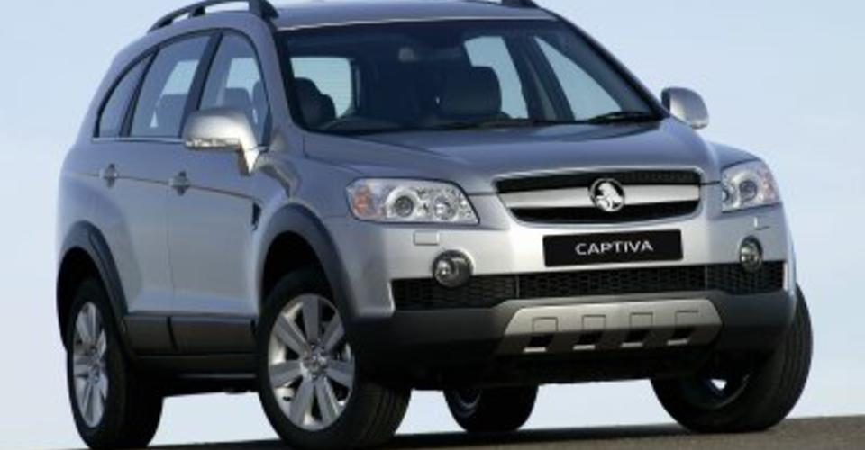 holden captiva series 2 sx review