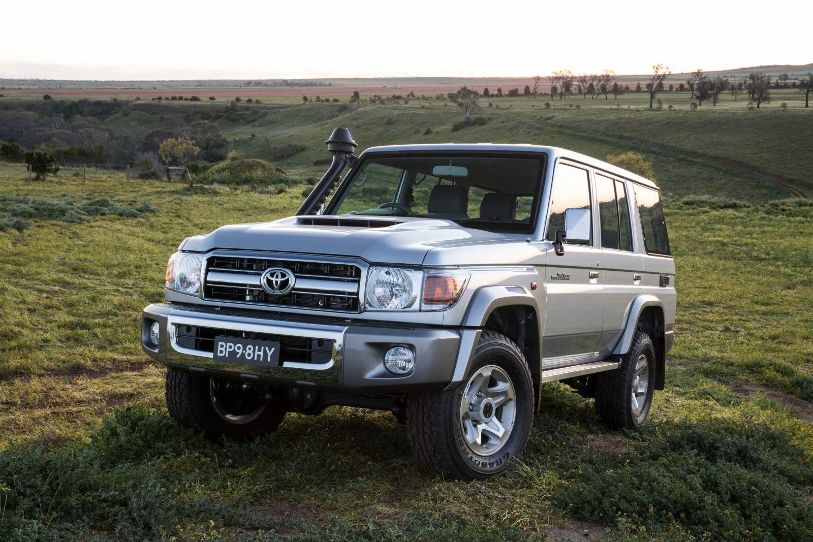 toyota land cruiser 70 series review