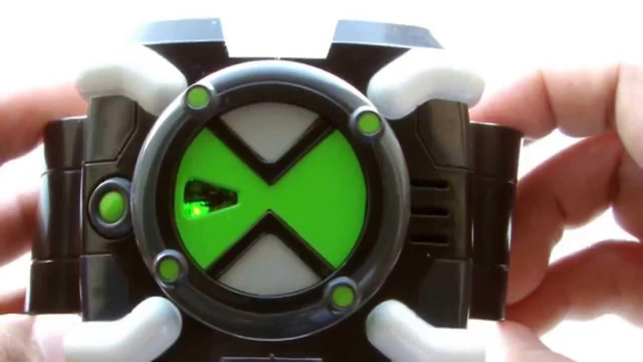 ben 10 omnitrix toy review