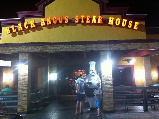 black angus steakhouse orlando reviews