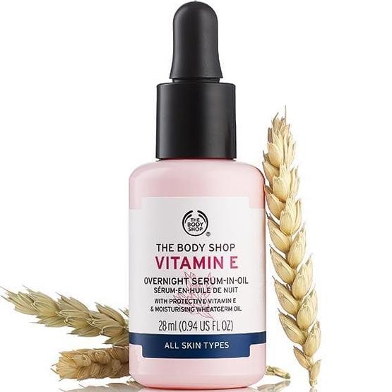 body shop vitamin e oil review