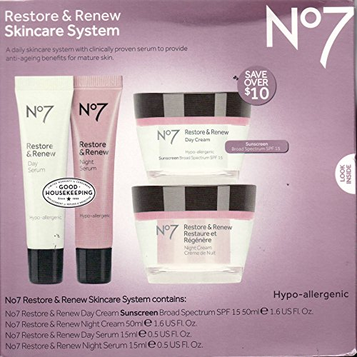 boots no7 restore and renew day and night serum reviews