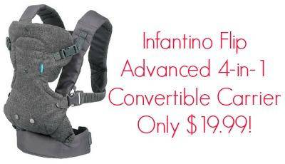 infantino flip advanced 4 in 1 convertible carrier reviews