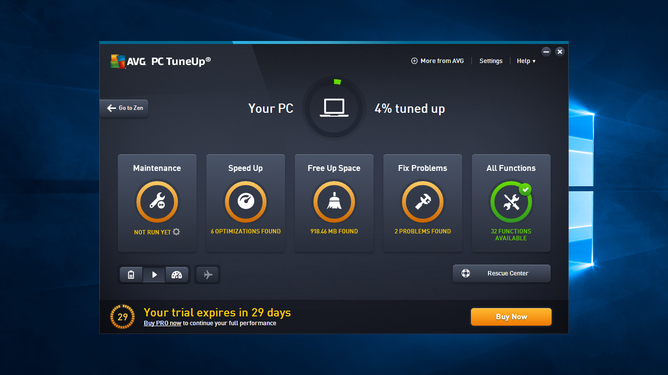 avg pc tuneup free review