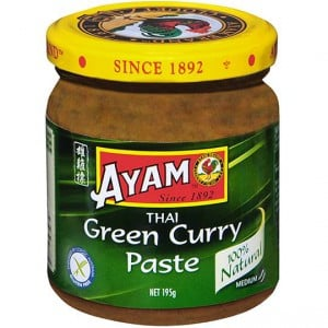 ayam green curry paste review