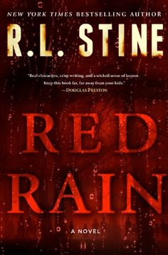 rl stine red rain review