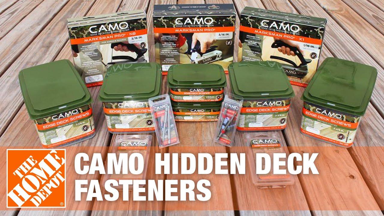 camo hidden deck fasteners review