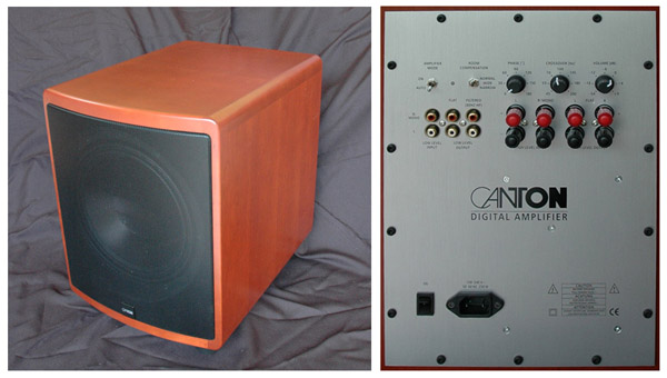 canton 10.2 subwoofer review