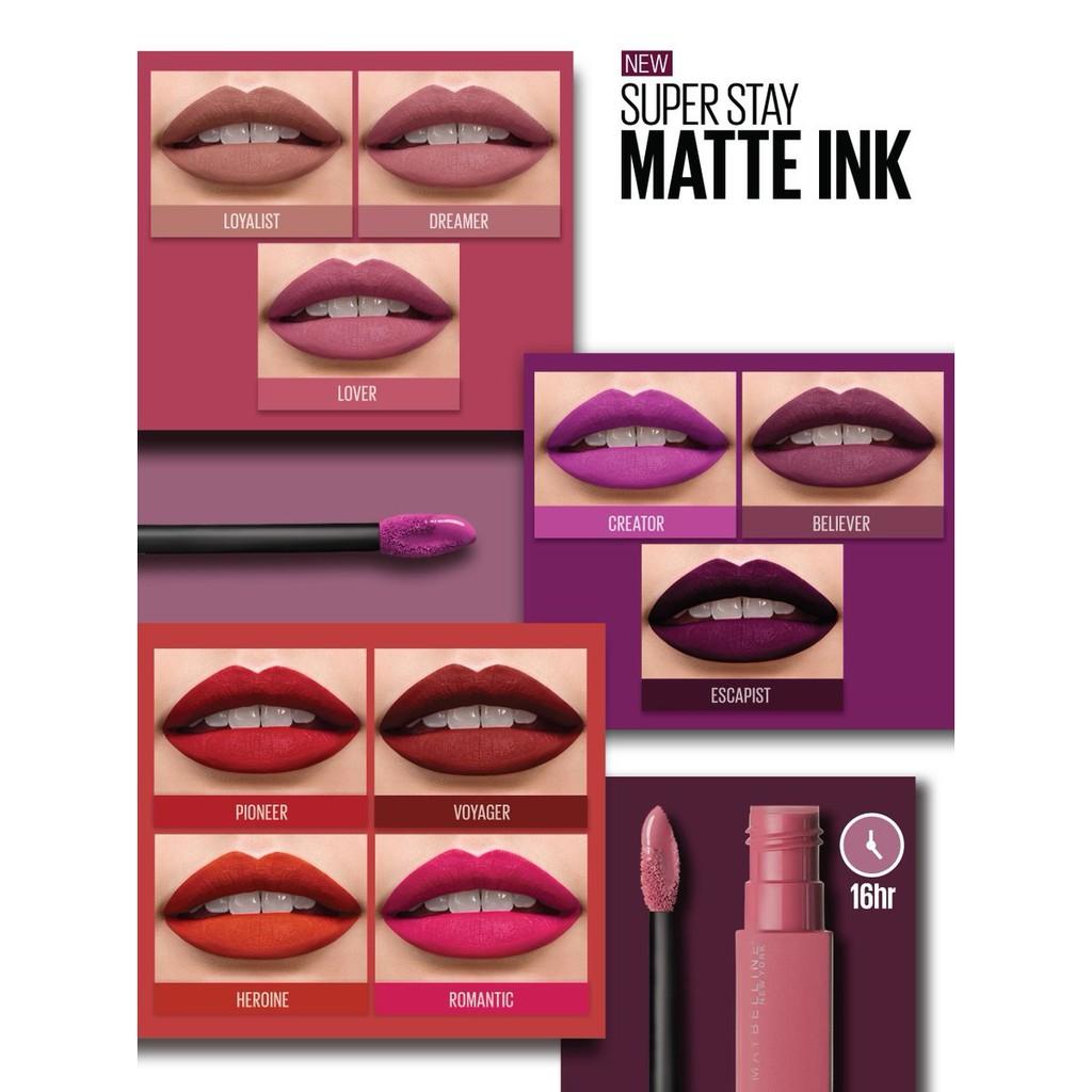 maybelline superstay matte liquid lipstick review
