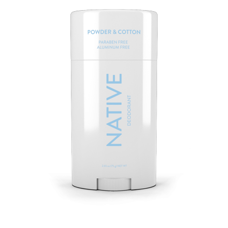 native deodorant cotton and lily review