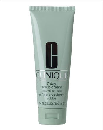 clinique 7 day scrub cream review