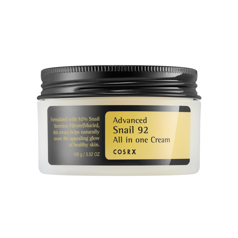 cosrx advanced snail all in one cream review