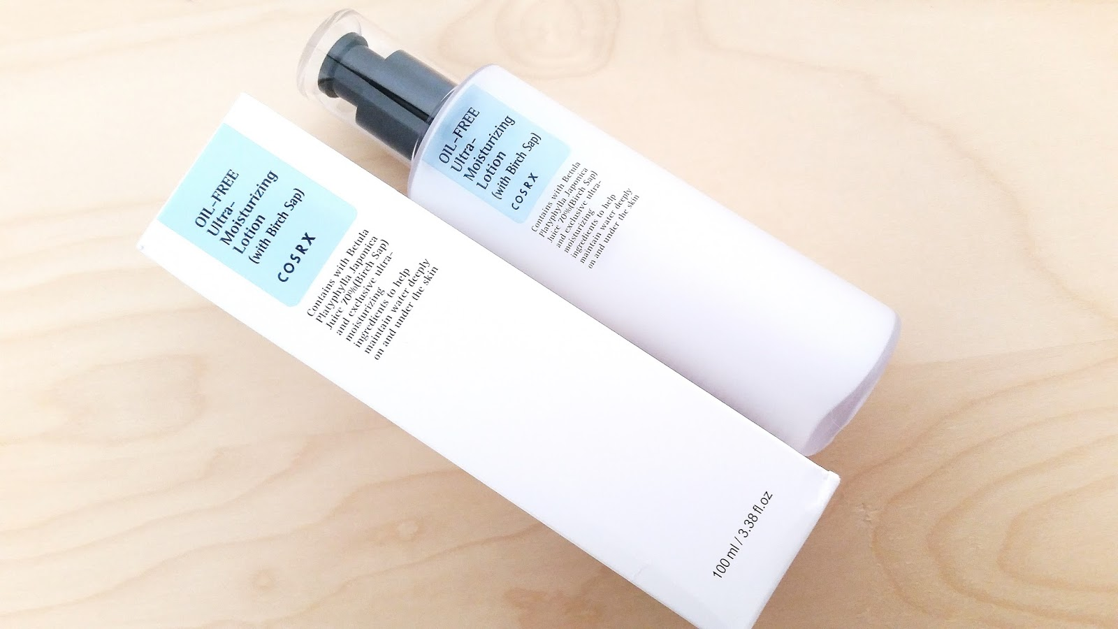 cosrx oil free ultra moisturizing lotion review
