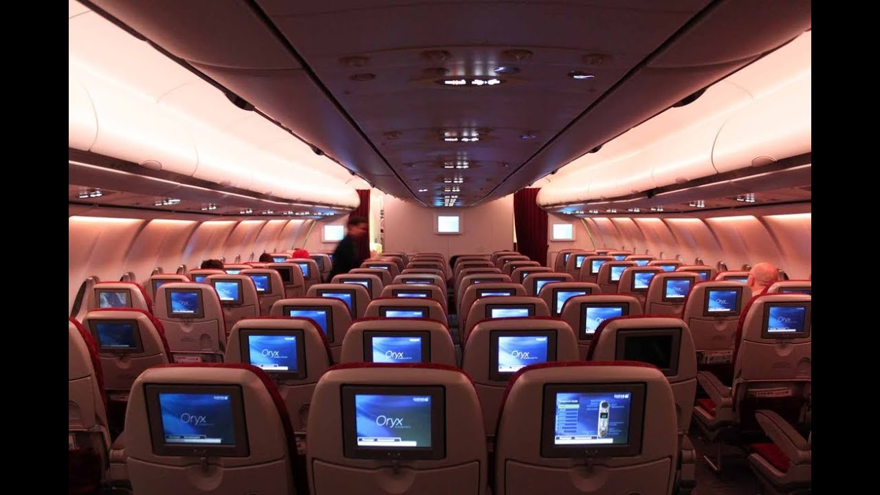 qatar airways a340 600 economy review