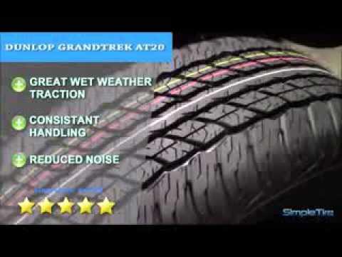 dunlop grandtrek st30 tire reviews