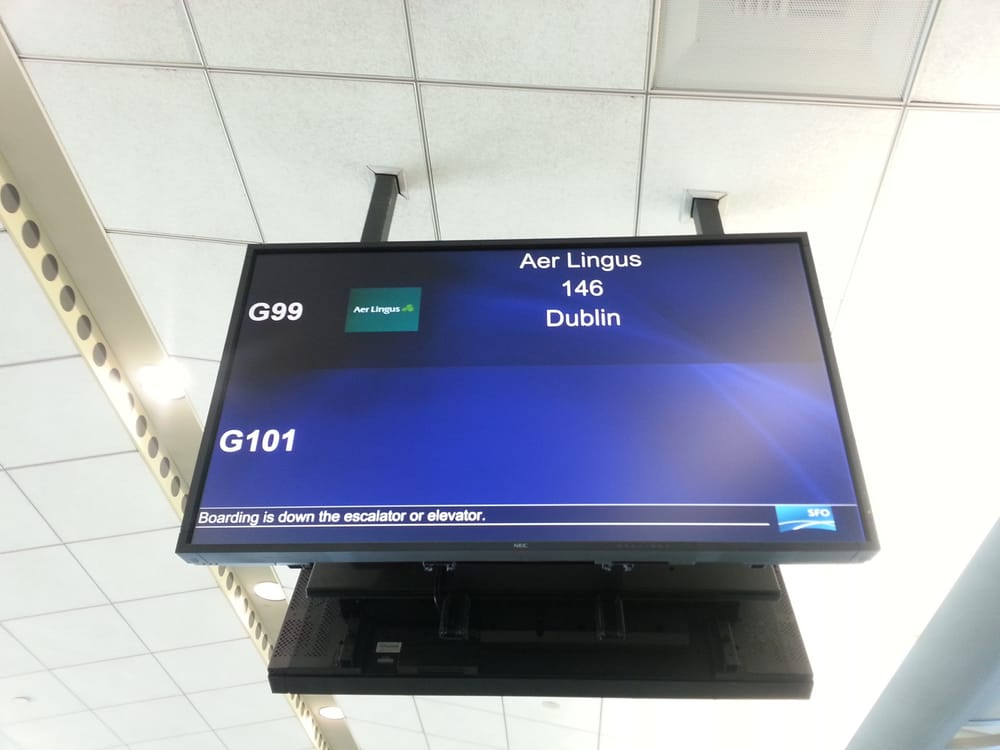 aer lingus sfo to dublin reviews