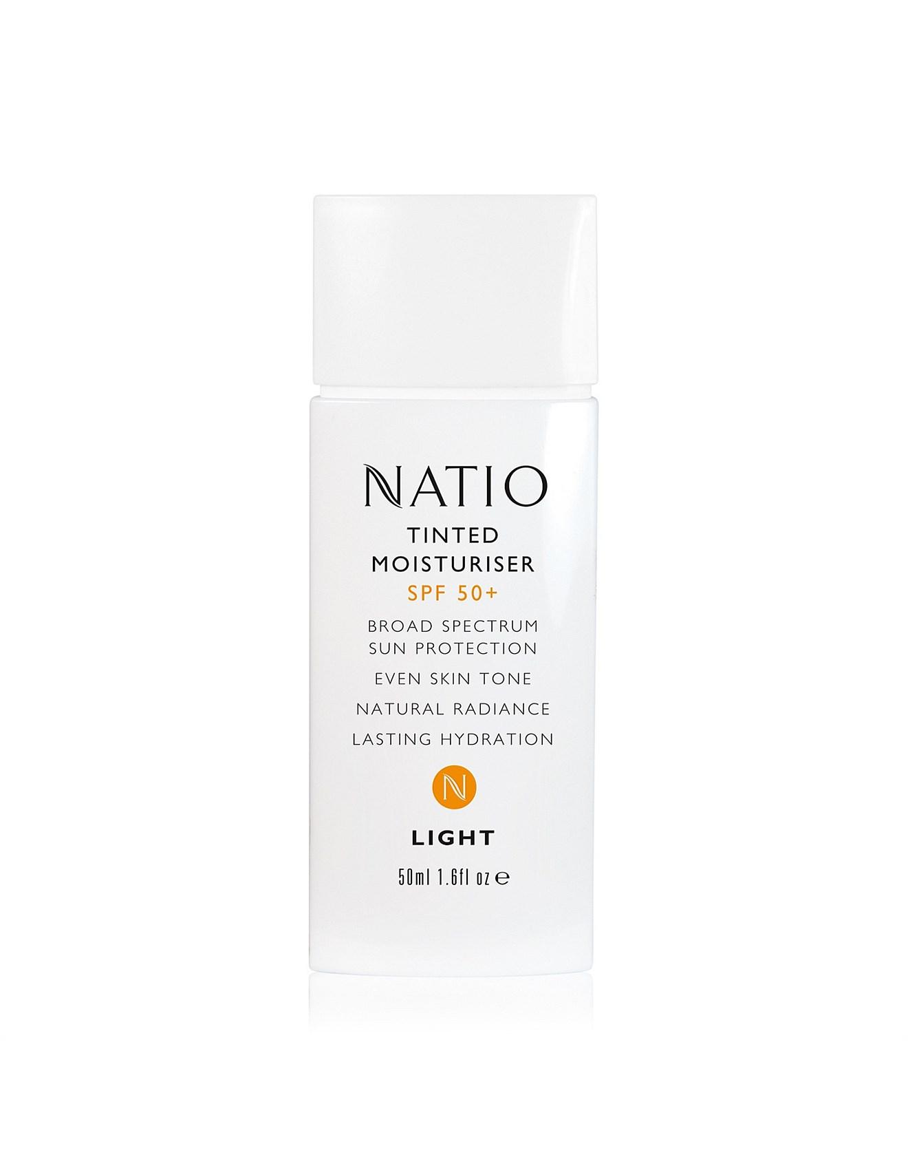 natio tinted moisturiser spf 50 review