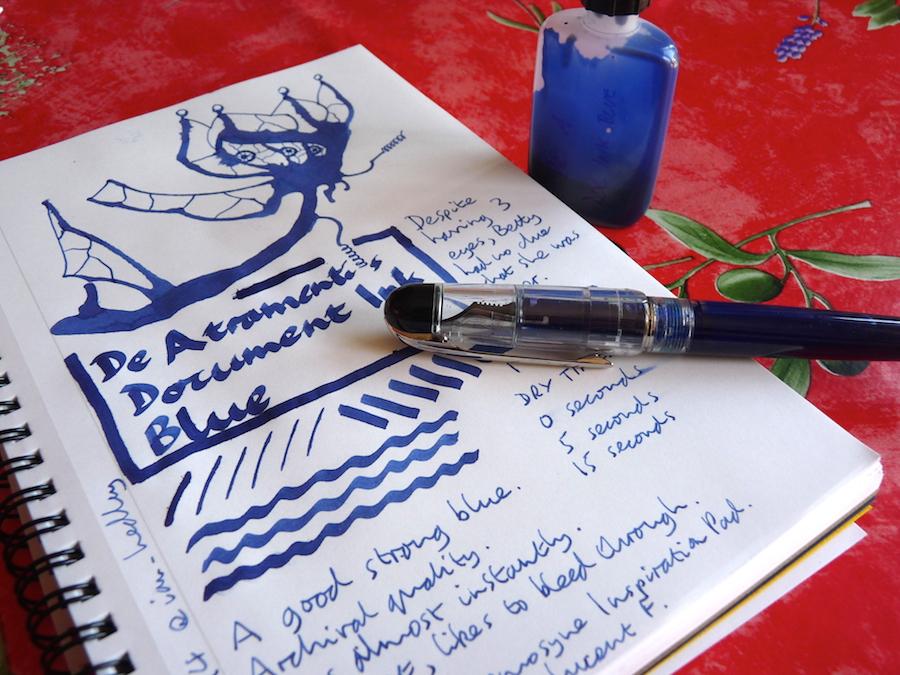 de atramentis document ink review