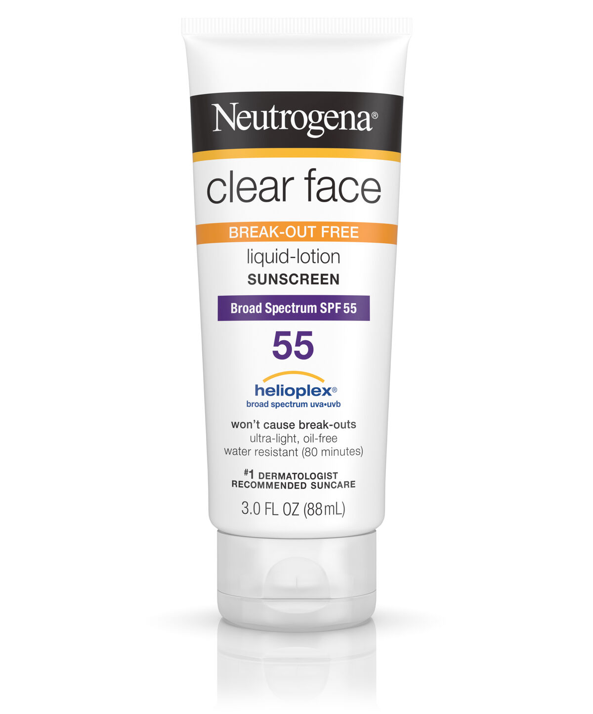 neutrogena clear face sunscreen review