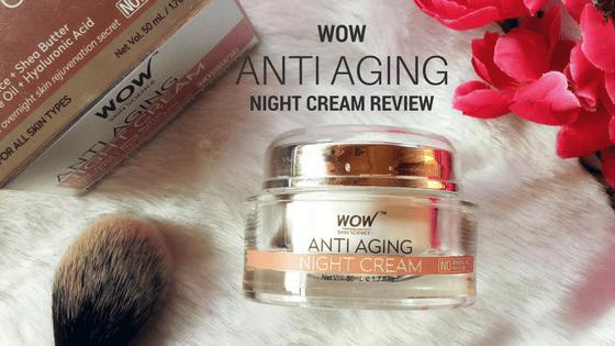 anti aging night cream reviews