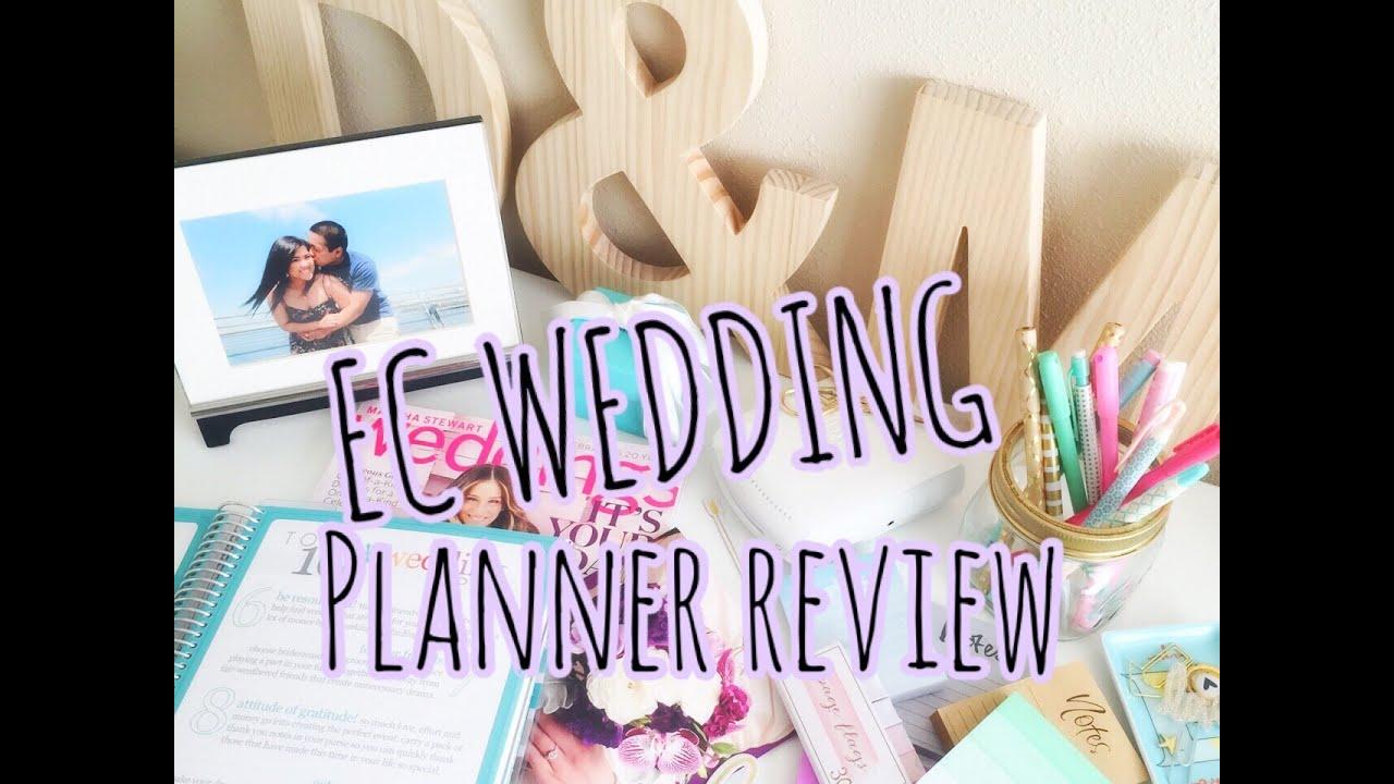 erin condren wedding planner review